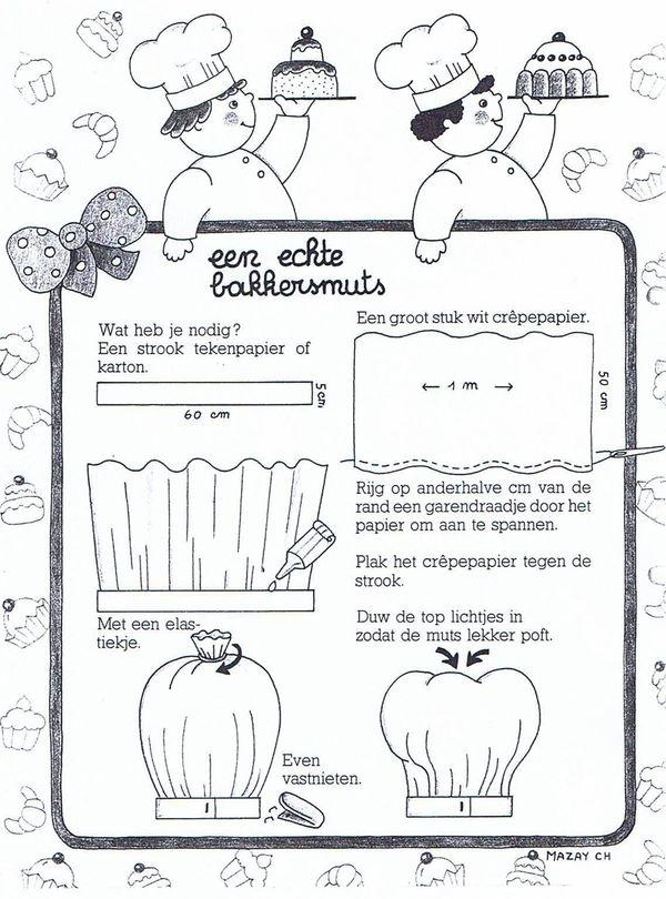 Bakkersmuts maken